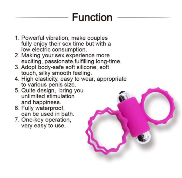 HEARTLEY Male Delay Ejaculation Silicone Penis Cock Ring